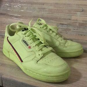 Adidas Neon Shoe